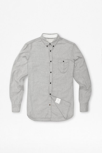 Double Brushed Twill Shirt