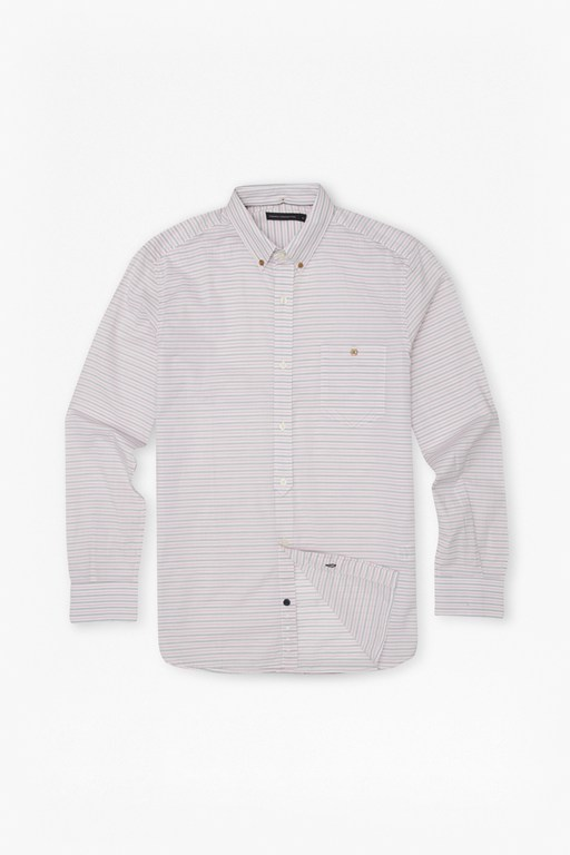 Complete the Look Boilly Horizontal Stripe Shirt