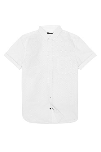 David Dot Cotton Shirt