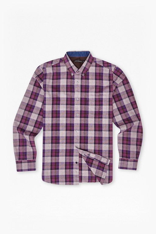 scattered poems plaid shirt