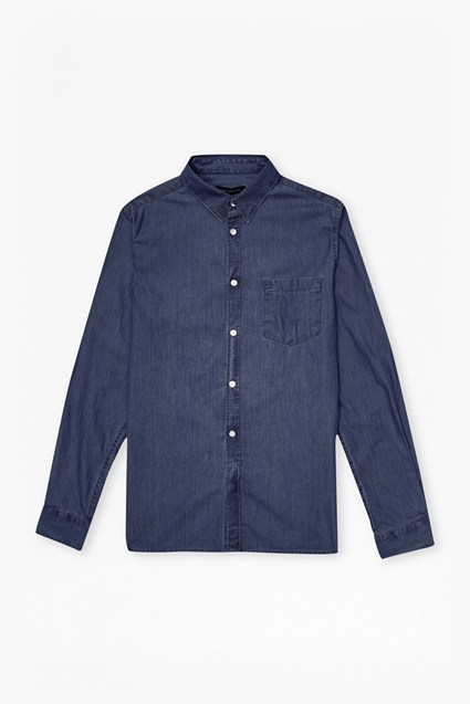 Image For Flaxman Denim Shirt - Rinse