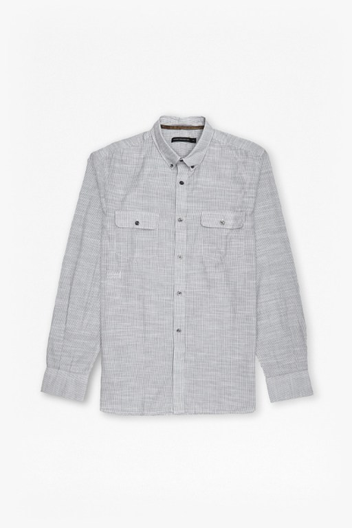 Complete the Look Slub Siriano Brosnan Blend Shirt