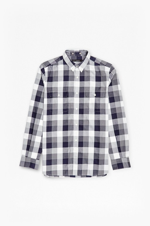lifeline karate check slim shirt