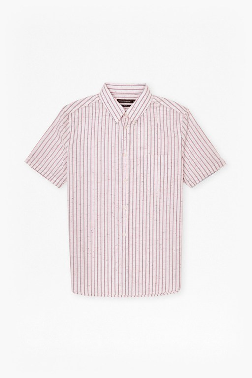 volley stripe connery short sleeve shirt