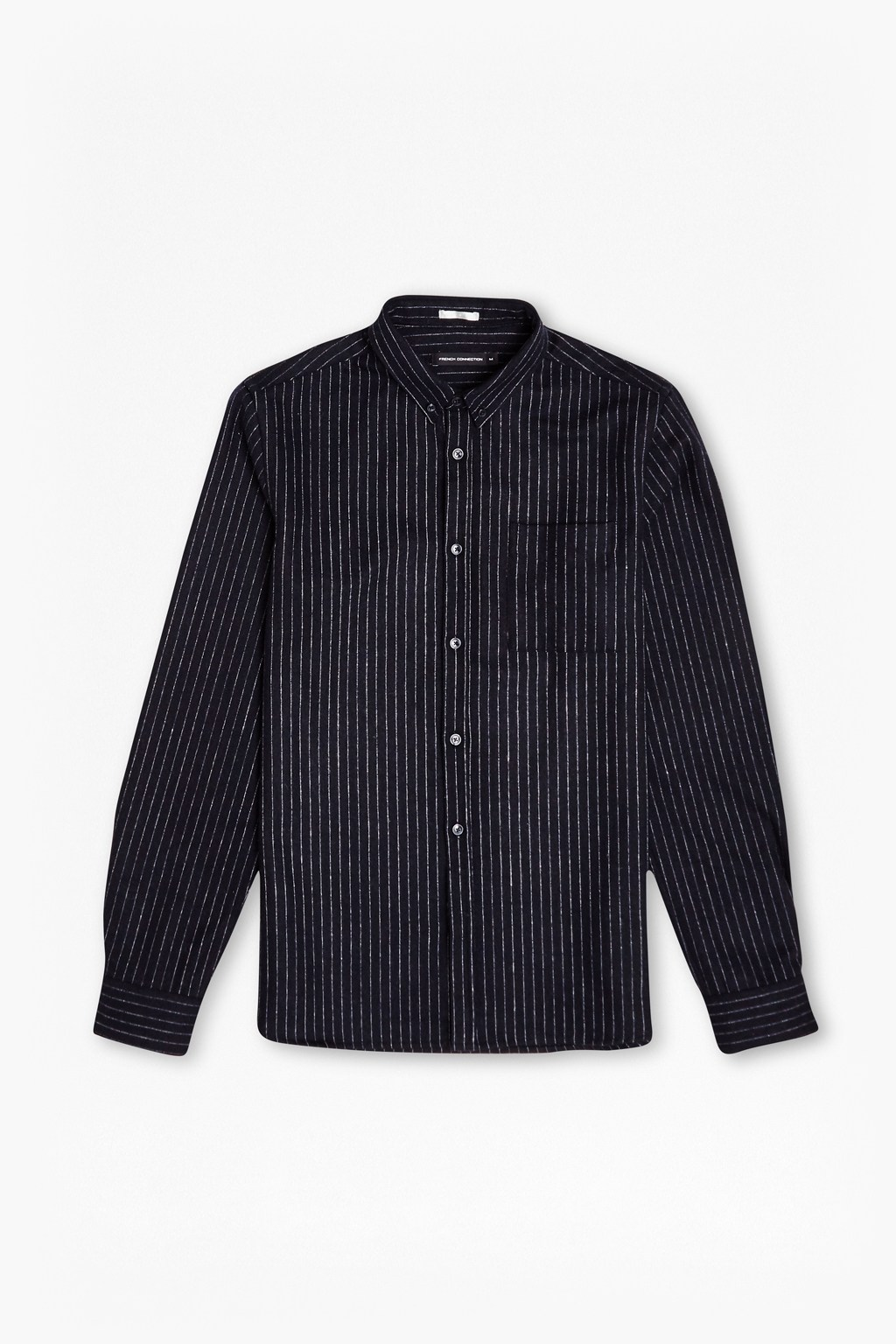 Unique Pinstripe Brosnan Flannel Shirt | Collections | French Connection AV61
