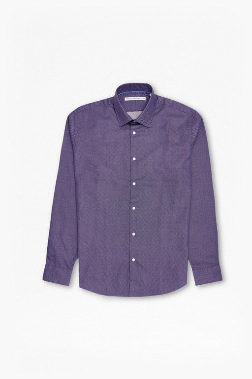 mb square cotton jacquard shirt