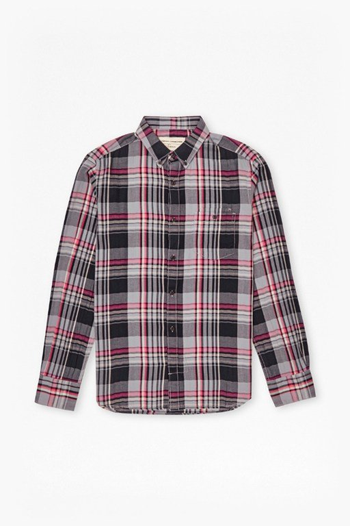 s16 gasser grindle plaid shirt