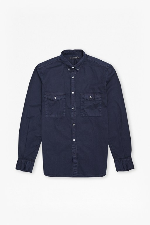 winter stretch twill shirt