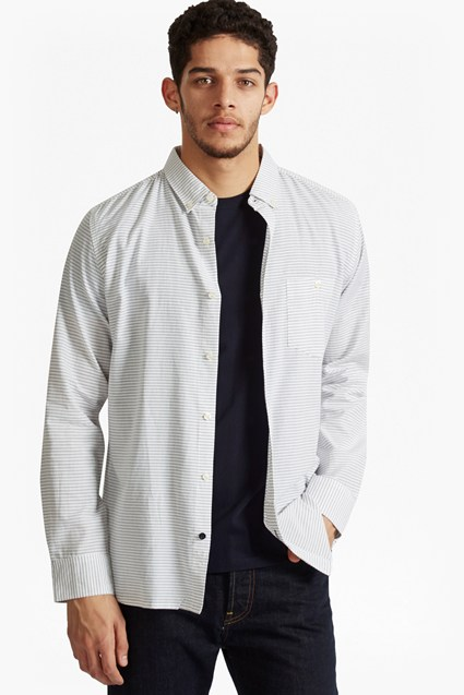 Cotton Button Front Shirt