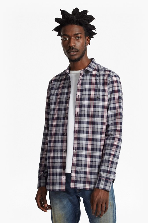 Complete the Look Twill Check Regular Fit Shirt