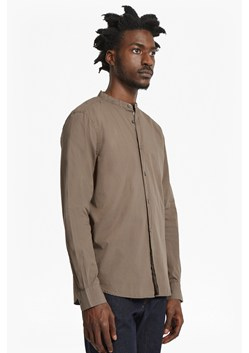 Core Tech Poplin Grandad Collared Shirt