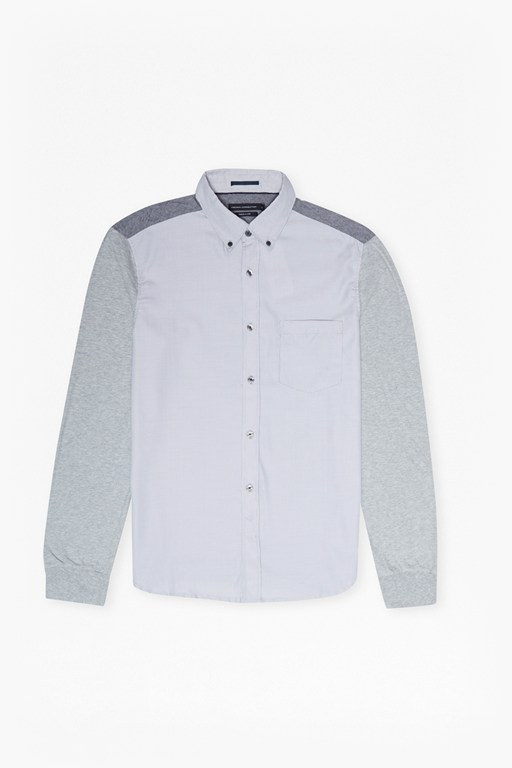 multi melange mix shirt