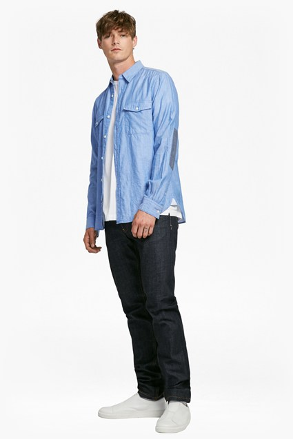 Double Chambray Shirt