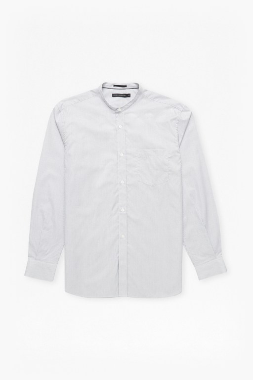 como mouline city stripe shirt