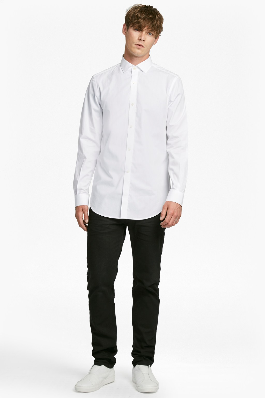 Formal Cotton Cutaway Collar Shirt Collections French Connection