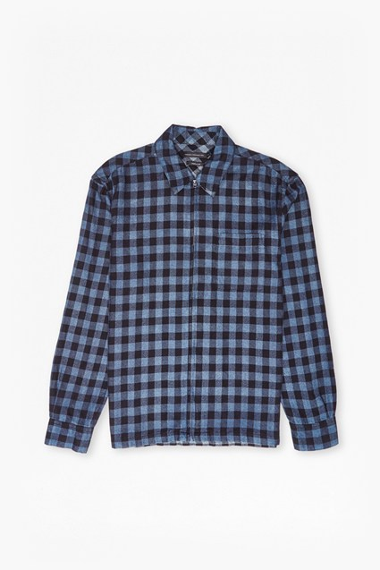 Double Face Blanket Check Shirt