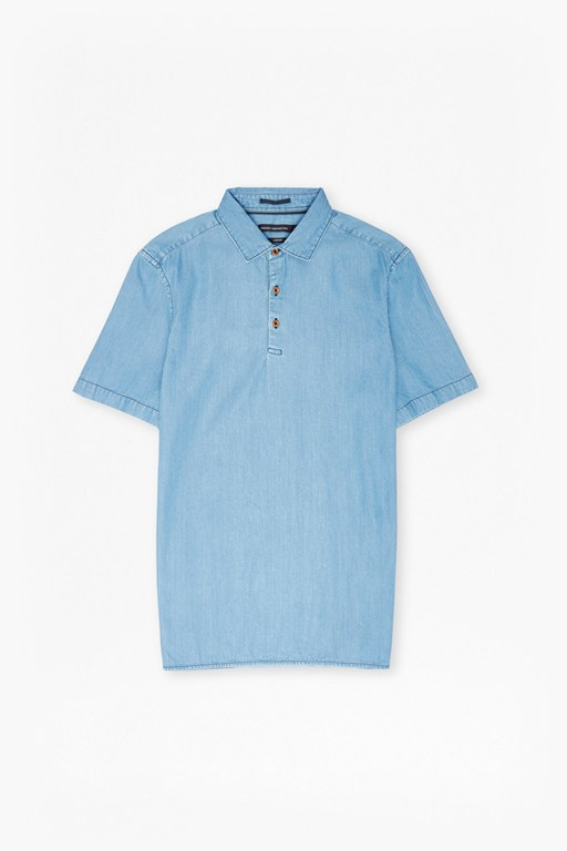 Complete the Look The Three Ages Of Denim Polo