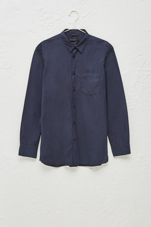 Complete the Look Garment Dye Poplin Shirt
