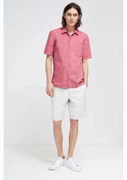Garment Dye Poplin Short Sleeve Shirt