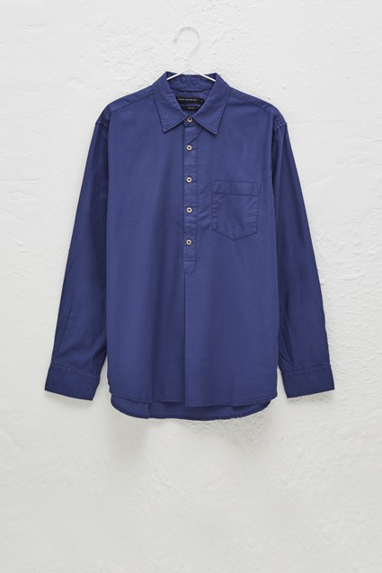 Pique Pop Over Shirt