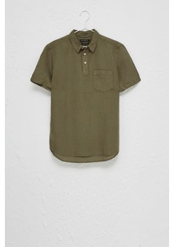 Garment Dye Cotton Linen Shirt