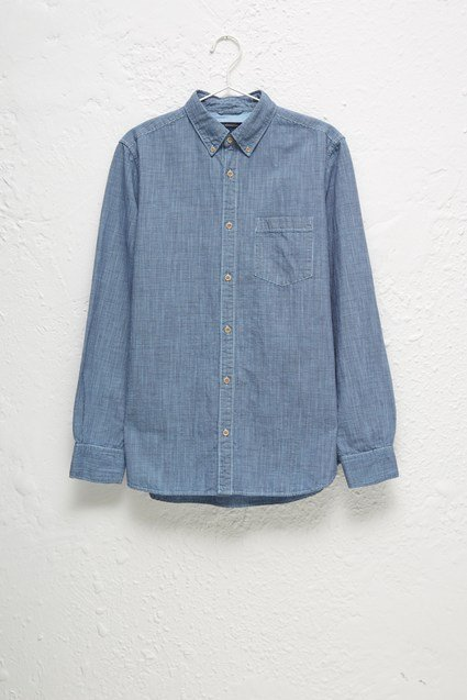 Linen Gingham Overdyed Shirt
