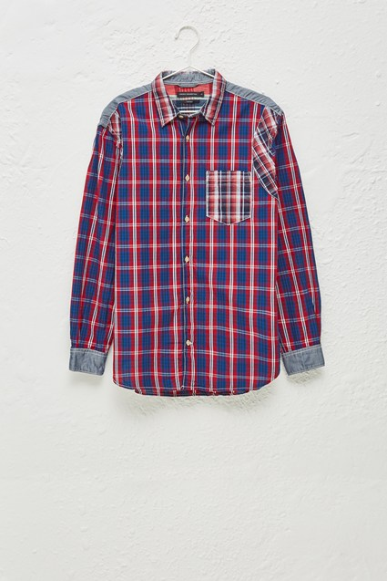 Outline Patchwork Shirt