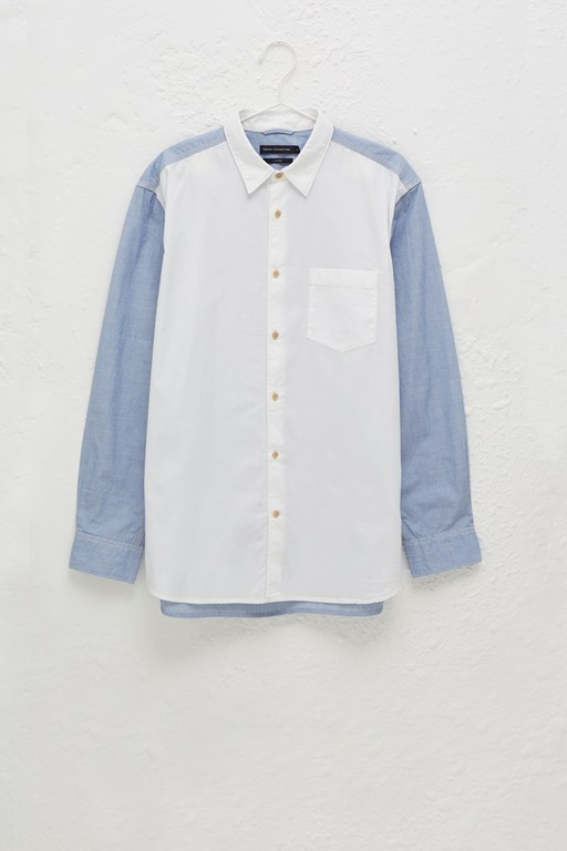 end on end oxford shirt