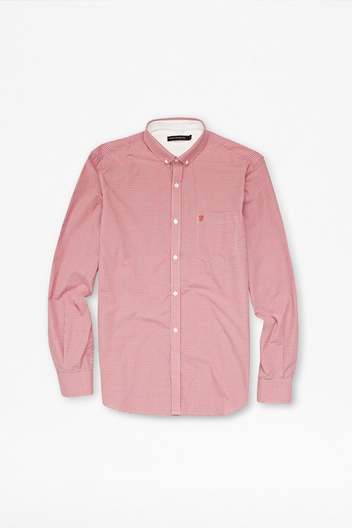 colourful cotton gingham shirt