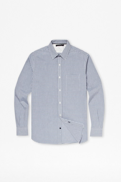 colourful gingham cotton shirt