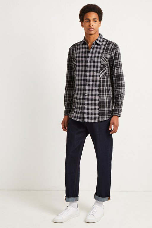 bits and pieces patchwork shirt