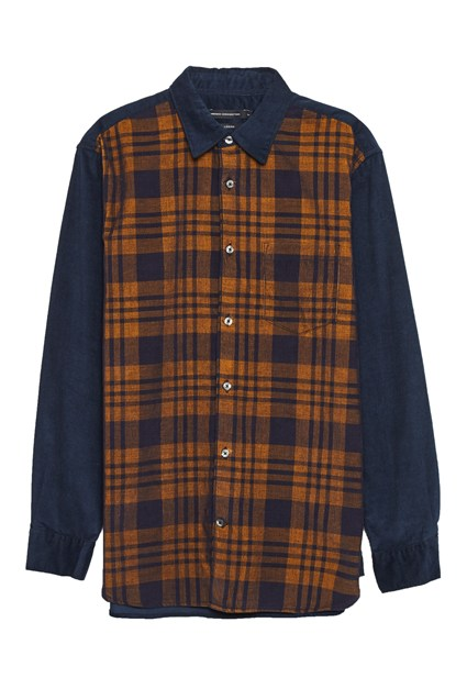 Overdyed Corduroy Mix Shirt