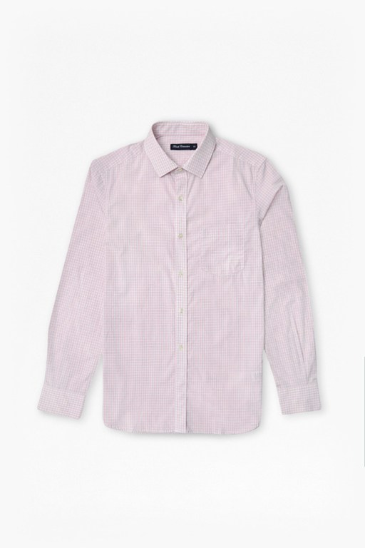 outline gingham shirt