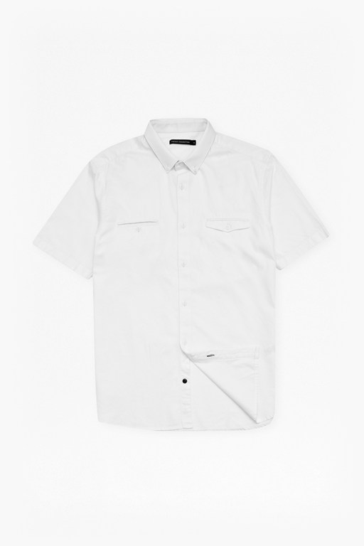 high summer twill chambray shirt