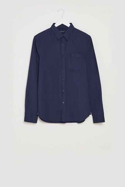 Lightweight Peached Oxford Shirt