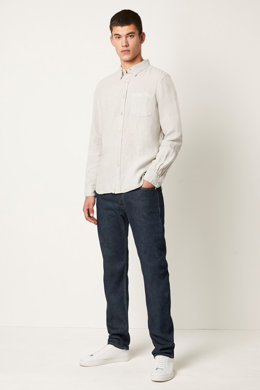 garment dyed linen shirt
