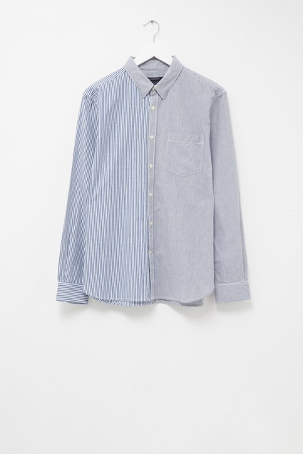 Micro Oxford Patch Shirt