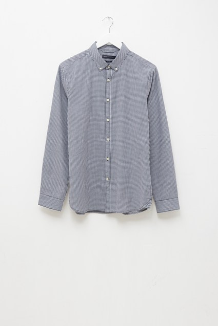 Button Down Yarn Dye Shirt