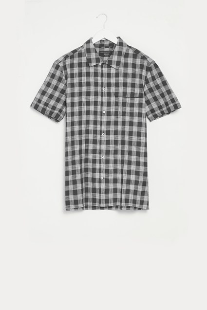 Space Gingham Check Shirt