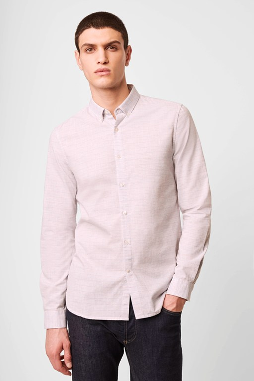 multi colour melange shirt