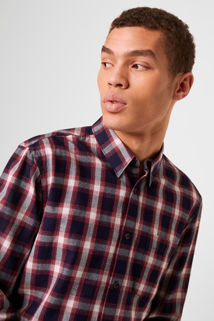 Workwear Check Flannel Shirt