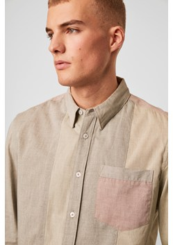 Cotton Panel Shirt