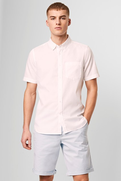 Short Sleeve Summer Oxford Shirt