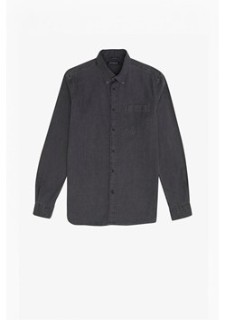 Winter Black Wash Denim Shirt