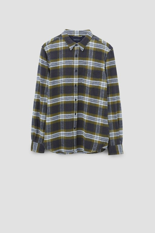 plaid check shirt
