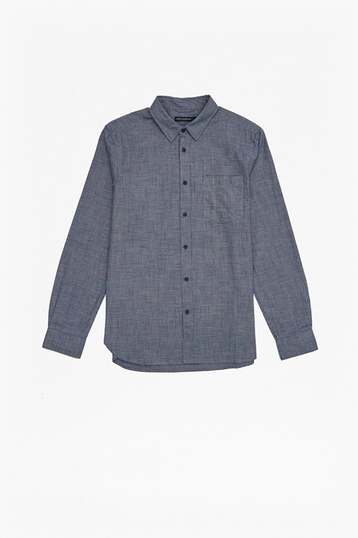 prince of wales flannel shirt