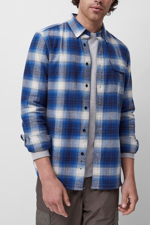goldfinch checked shirt