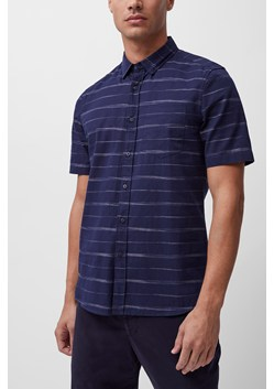 Horizontal Space Dyed Stripe Shirt
