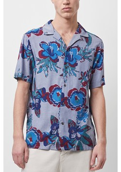 Reactive Chambray Floral Shirt