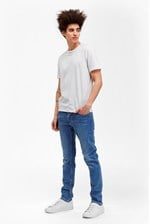 Looks Great With Co Slim Bleach Jeans